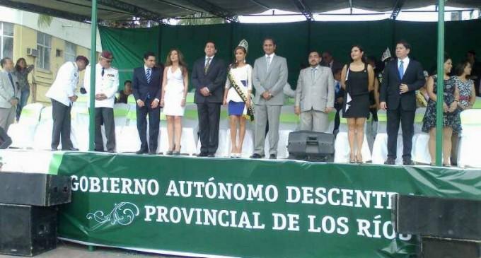Los Ríos celebró sus 153 Años con desfile cívico