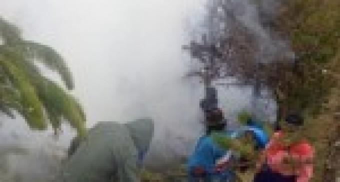 Dos incendios fueron controlados totalmente en Chimborazo