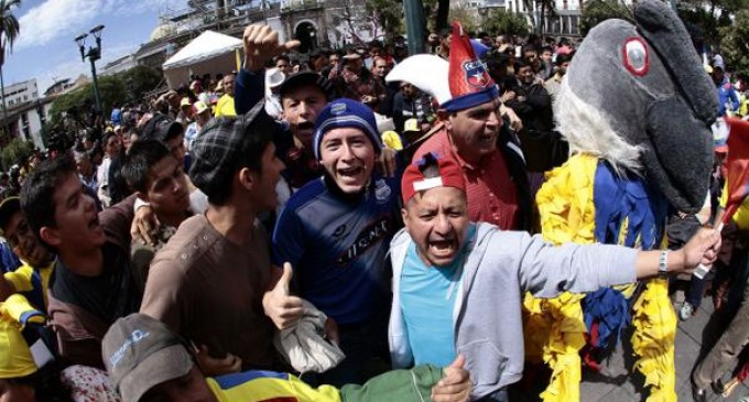 Reinaldo Rueda agradeció el apoyo del Presidente Correa