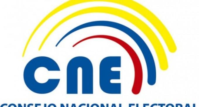 El CNE habilitó link para inscribir listas