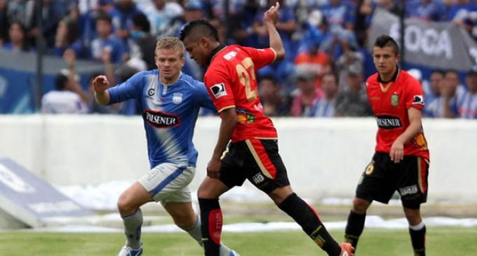 Emelec falla otro penal y empate de visitante ante Deportivo Cuenca