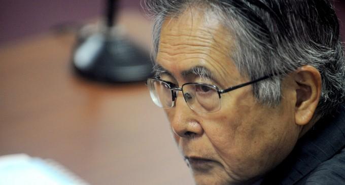 Fujimori será trasladado a hospital con nueva lesión en la lengua