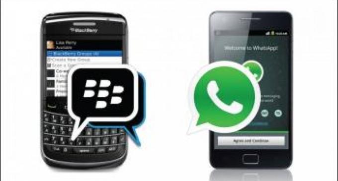 ¿Es realmente más segura la plataforma de Blackberry frente a Whatsapp?