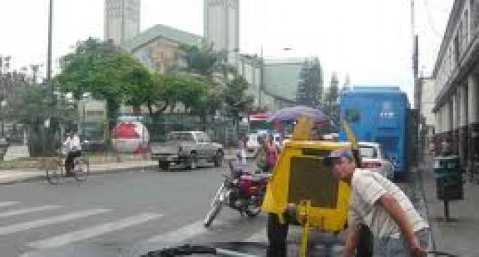 Suspensión del servicio de agua en Babahoyo