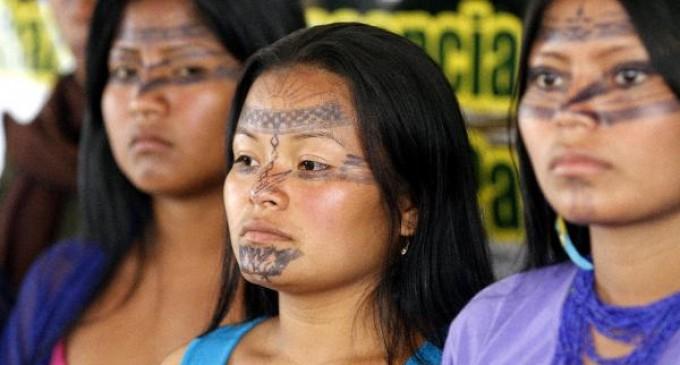 Las mujeres amazónicas no se irán sin ser oídas