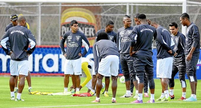 Selección de Ecuador se completa