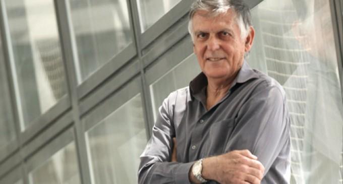 El premio Nobel de Química, Dan Shechtman, dialoga con Rafael Correa sobre investigación científica en Ecuador