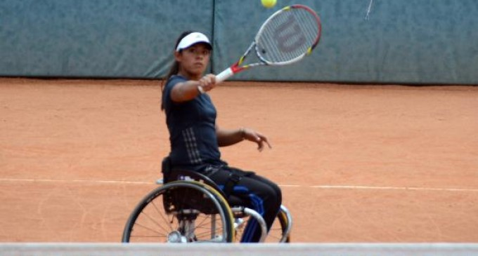 Un australiano y una chilena logran campeonato de tenis en silla de ruedas en Quito