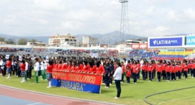 Arrancaron los Juegos Nacionales Estudiantiles Sub 14 Riobamba 2013