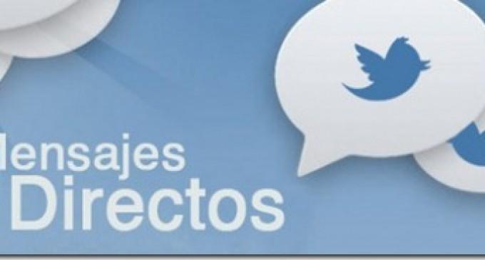 Twitter permite recibir mensajes directos de cualquier seguidor
