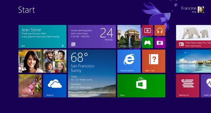 Windows 8.1, la actualización al sistema operativo de Microsoft, ya está disponible