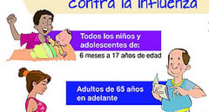 Empieza campaña de vacunación contra la influenza