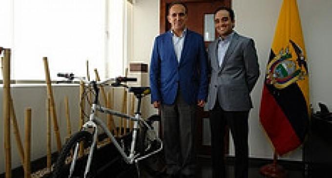 Se presentó prototipo de bicicleta con componente ecuatoriano