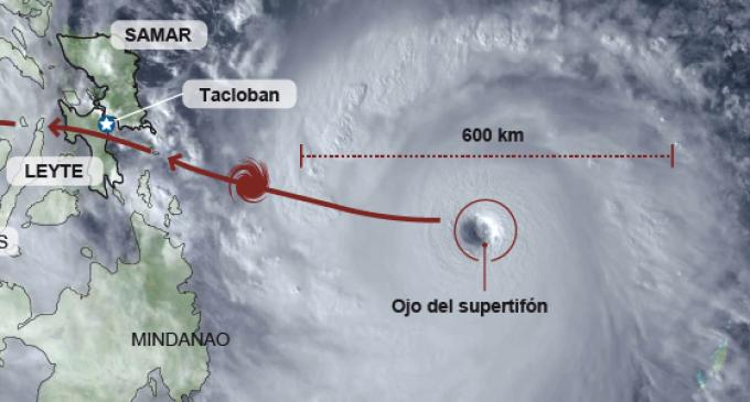 Haiyan causa 10.000 muertos a su paso por Filipinas