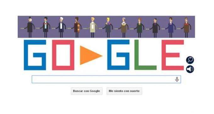 El doodle de Google celebra los 50 años de Doctor Who con un juego retro