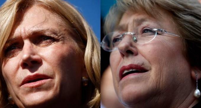 Bachelet y Matthei a segunda vuelta según Servel