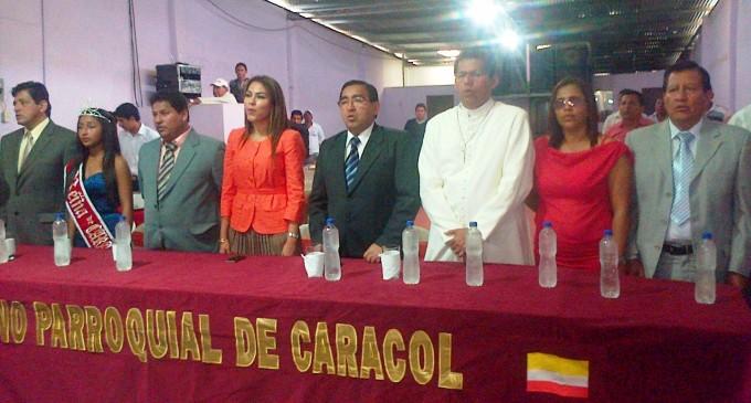 Sesión Solemne por fundación de la parroquia Caracol