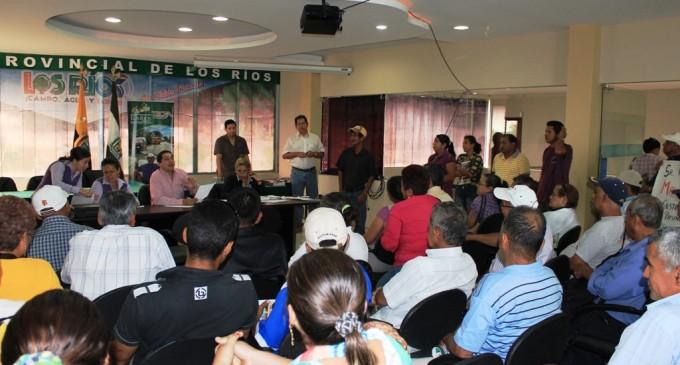 Comunidades coordinan obras prioritarias