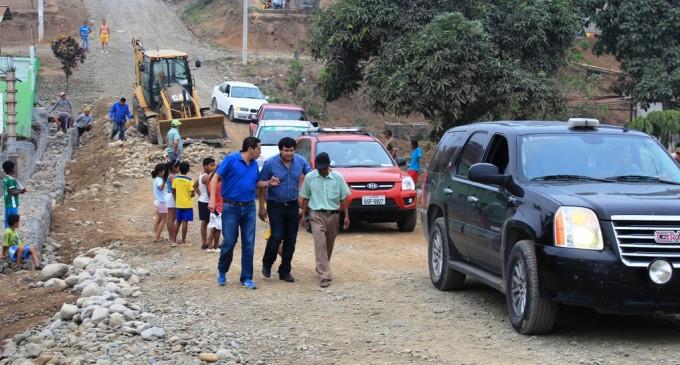 Continúa  los trabajos previos al asfaltado de vías urbanas de Quevedo