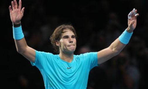 Nadal venció a Federer en semis