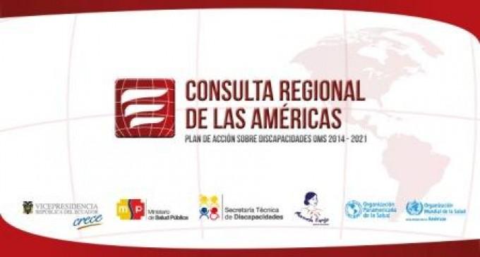 Ecuador sede de la consulta regional de las Américas