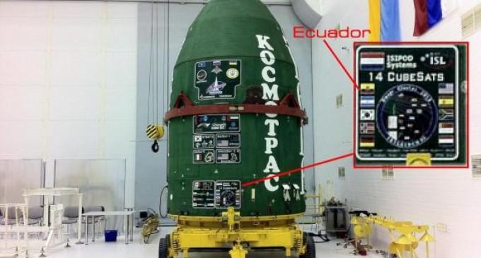 Ecuador pondrá en órbita su segundo satélite en la madrugada de este jueves