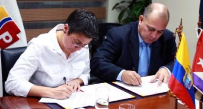 Convenio de salud entre Ecuador y Cuba