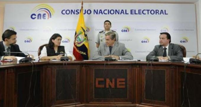 A las 18h00 termina el plazo para inscripción de candidatos a elecciones 2014