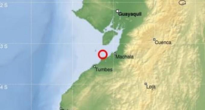 Sismo registrado en Isla Puná fue de 5,4 de magnitud
