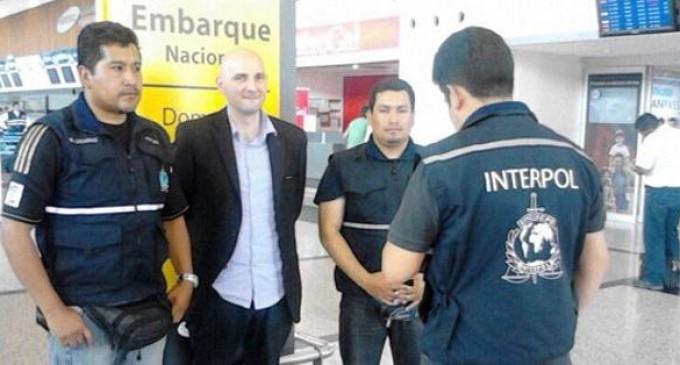 Supuesto mafioso italiano fue trasladado al expenal García Moreno