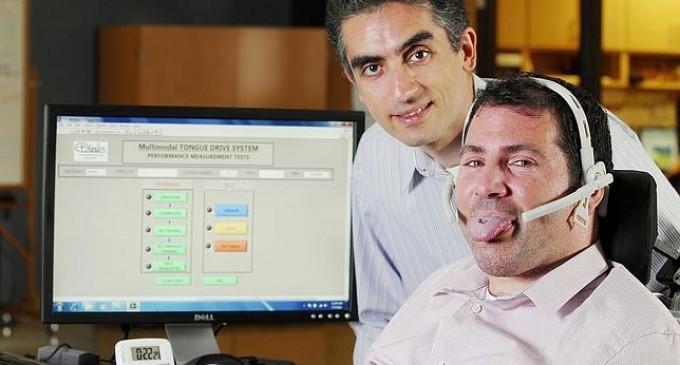Un piercing magnético en la lengua para conducir la silla de ruedas de forma más rápida, cómoda e intuitiva