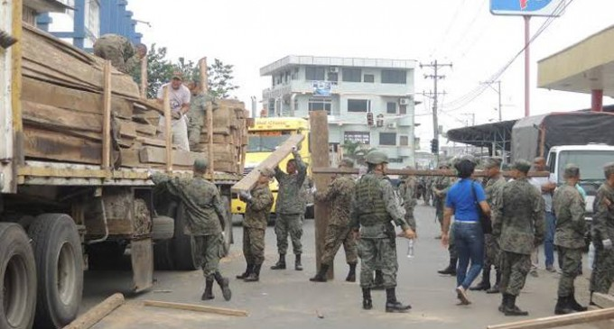 Ministerio de Ambiente incauta madera en operativos en Esmeraldas