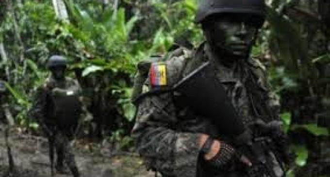 Militares fueron atacados durante operativo contra la minería ilegal