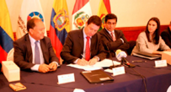 Ecuador sede del tercer encuentro de Ministros del SINEA