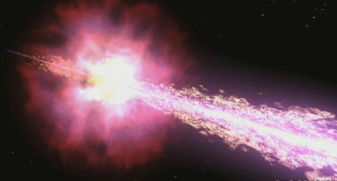 La explosión cósmica más brillante jamás detectada