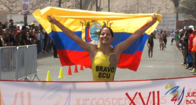 Tres de las seis medallas que repartió el triatlón en los Bolivarianos quedaron en manos ecuatorianas