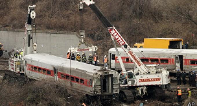 Tren que descarriló en Nueva York iba a más del doble de la velocidad permitida