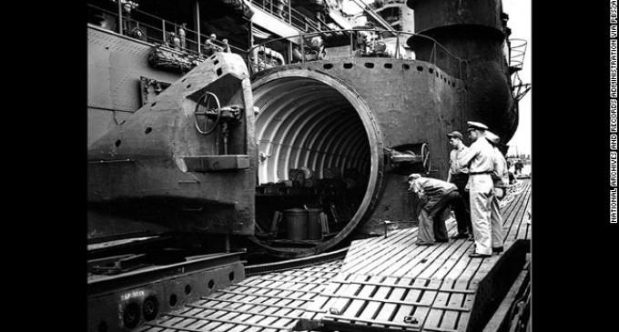 Descubren un mega submarino japonés perdido en la Segunda Guerra Mundial