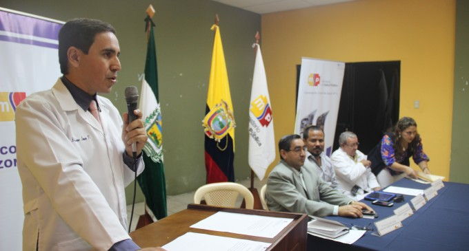 Enrique Icaza, nuevo director del Hospital Martín Icaza de Babahoyo