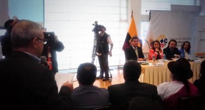Ecuador cuenta desde hoy con un nuevo Atlas de las desigualdades socio-económicas