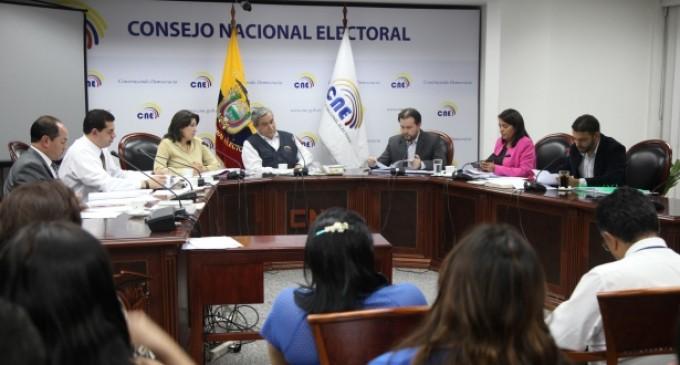 CNE rechaza inscripción de Carlos Falquez Batallas