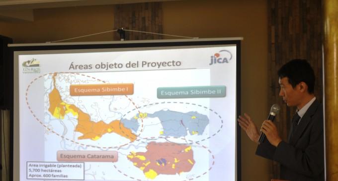 Prefectura de Los Ríos y JICA rehabilitarán sistema de riego Catarama
