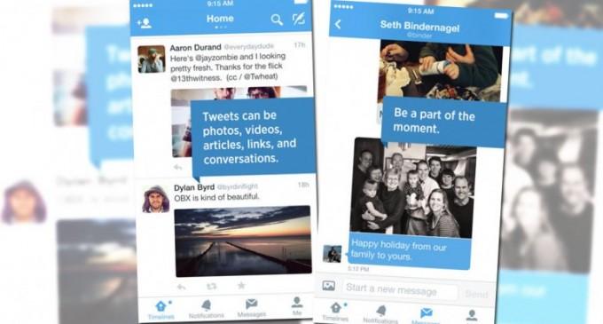 Twitter ahora permite enviar fotos a través de mensajes directos