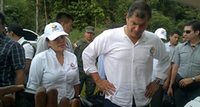 Presidente Rafael Correa realizó un recorrido en el Bosque Protector Colonso