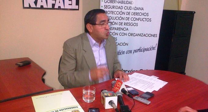 Gobernador de Los Ríos dio informe de seguridad en Quevedo