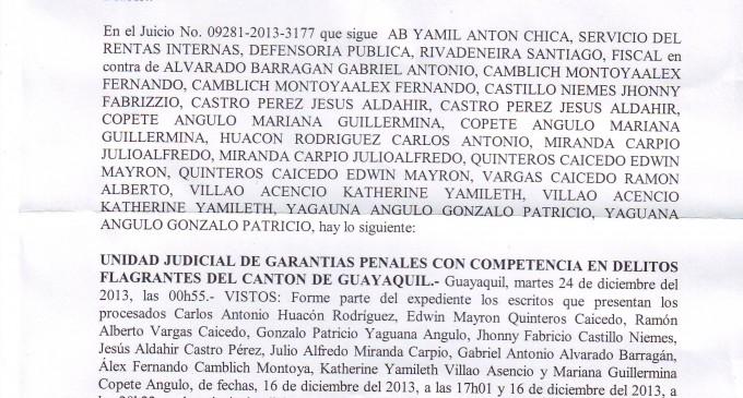 Fiscal de Los Ríos abre instrucción fiscal contra depositario de Ha. Clementina