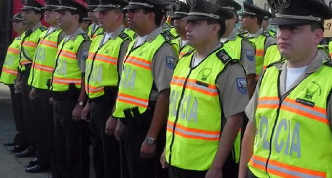 43 mil policías velarán por la seguridad durante feriado