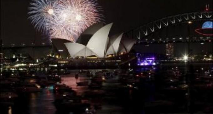 Australia, Nueva Zelanda y varias islas del Pacífico ya disfrutan del año 2014