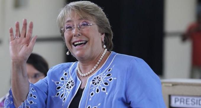 Michelle Bachelet es reelecta Presidenta de Chile