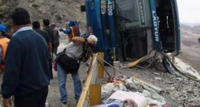 Accidente de autobús en Brasil deja al menos 13 muertos